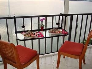 Klapptisch Mit Stühlen : h ngetisch f r balkon coole vorschl ge ~ Lateststills.com Haus und Dekorationen