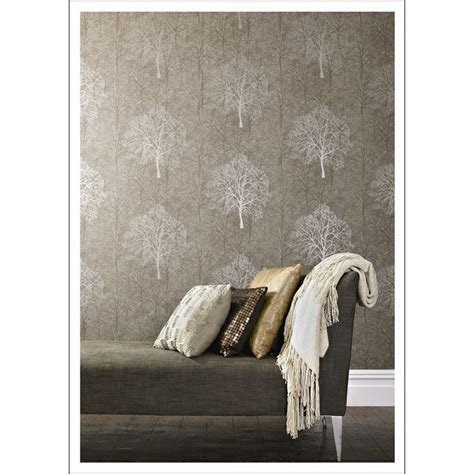 Bunnings Wallpaper Feature Wall  Master Bedroom