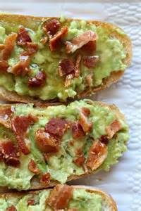 Avocado Toast with Bacon