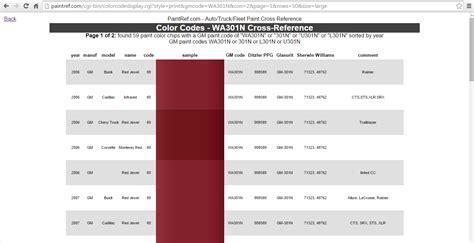 question about color paint code corvetteforum