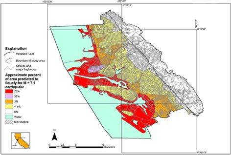 liquefaction hazard maps