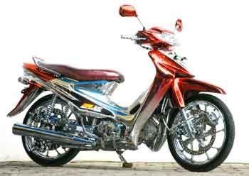 Modif Smash by Harley Davidson Motorcycles Today Modif Suzuki Smash