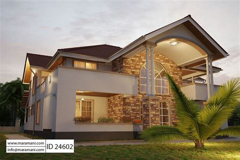 home plans 4 bedroom house plan id 24602 house plans by maramani