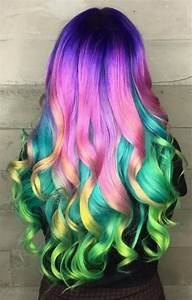 Cool Rainbow Hairstyle Ideas For Young Girls HairzStyle Com : HairzStyle