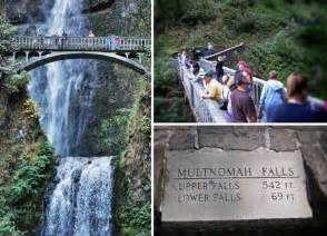 Portland Oregon Multnomah Falls Map
