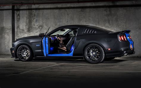 Blue Gold Cool Car Wallpapers by 84 Mustang Desktop Wallpapers On Wallpaperplay