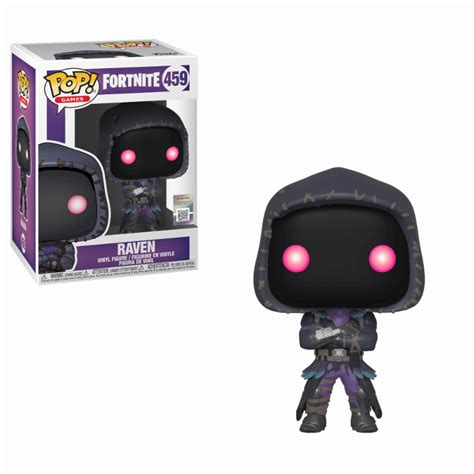fortnite raven pop vinyl figure merchandise zavvi