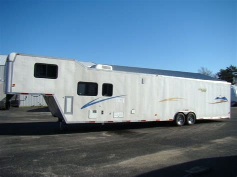 Used Rv Parts 2004 Race Car Hauler With Living Quarters
