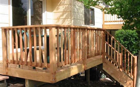 Our deck railing system won't make a mess. Horizontal Deck Railing Pictures Decks Ideas Code Drawings Home Elements And Style Cable Systems ...