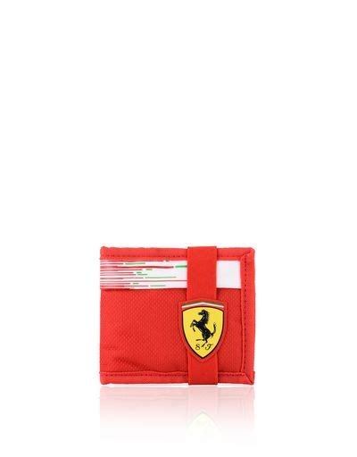 ferrari mens wallets scuderia ferrari official store