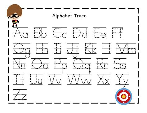 abc tracing sheets for preschool kiddo shelter 726 | 7397907042898f500da8937b3ef51133