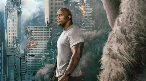 Rampage 2018 Movie Wallpaper 63327 2764x1555 Px