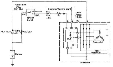 Lexu Sc400 Starter Wiring Diagram by How To Replace A Lexus Ls400 Sc400 Alternator Lextreme