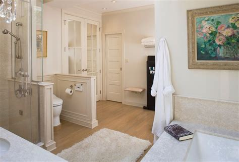 Small Master Bath In Chevy Chase-traditional-bathroom