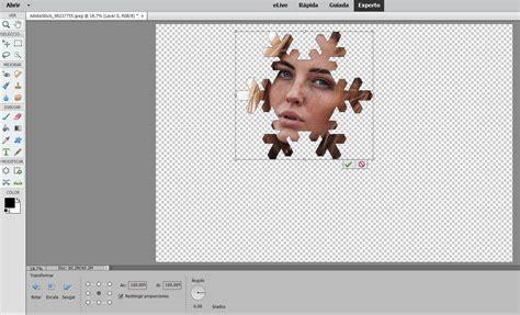 recorte de fotografias en photoshop elements