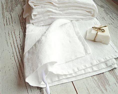 100% Real White Linen Napkins Wedding Table Napkin Natural