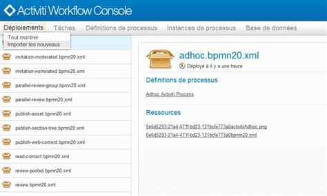 Alfresco Workflow Console by Alfresco La Console D Administration Des Workflows