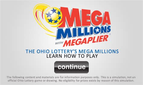 mega millions  ohio lottery