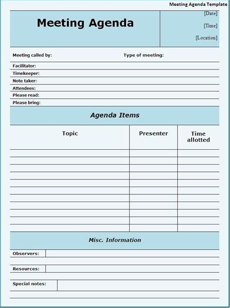 meeting template meeting agendas templates meeting agenda template page word templates printable