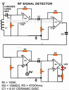 how to make a cell phone rf signal detector circuit a With rf detector circuit schematic