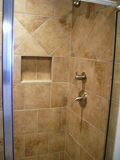 Design Of Tiles In Bathroom by Bathroom Interesting Shower Tile Designs With Fascinating