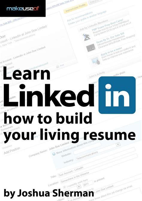 linkedin guide build  living resume marketing