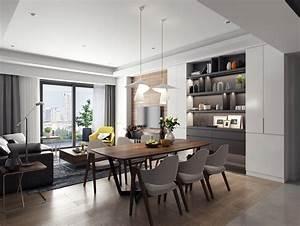 Apartment, Interior, Design, On, Behance
