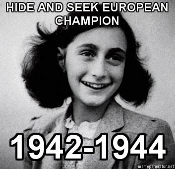 Anne Frank Memes - virtual reality anne frank film to give audience chance to experience her life stormfront