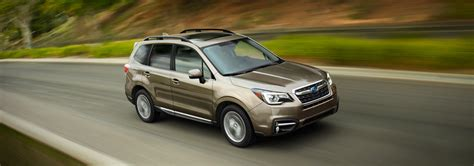 Subaru Forester Noise by Subaru Announces Details For The 2017 Forester Lineup