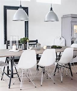 Eames Chair Weiß : eames dsr stuhl wei eames dsr pinterest esszimmer wohnen und einrichtung ~ Markanthonyermac.com Haus und Dekorationen