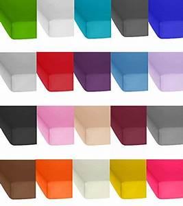 Standard Bilderrahmen Größen : standard jersey spannbetttuch spannbettlaken in allen farben und gr en 100 baumwolle 140 x ~ Markanthonyermac.com Haus und Dekorationen