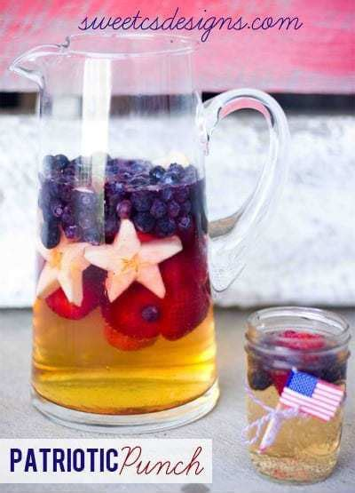Recipes Patriotic Planting by Patriotic Punch Sweet C S Designs