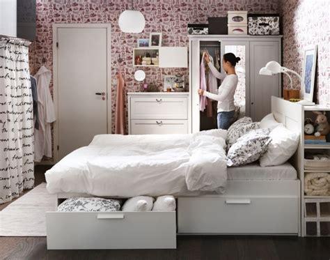 Ikea Brimnes Bed by κρεβάτι Brimnes ντουλάπα συρταριέρα Aspelund Bedroom