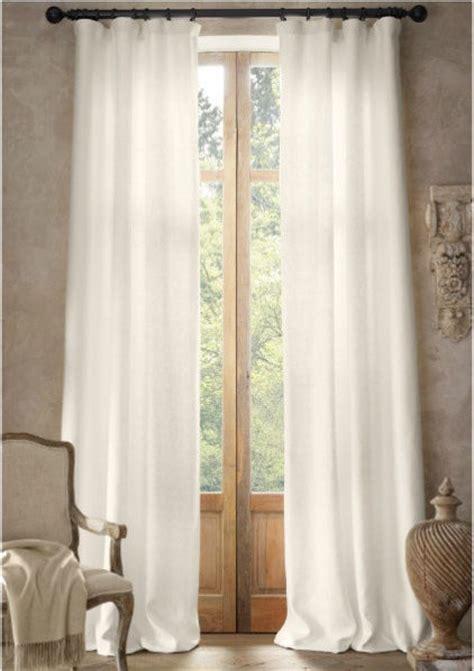 basket weave white linen curtains nurseries