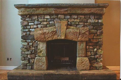 Stone Veneer Fireplace Surround Fireplace Design Ideas