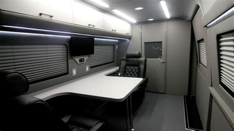 office for mobile mobile office conversion vans hq custom design