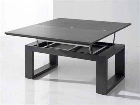 mesa de centro convertible en mesa de comedor  medida