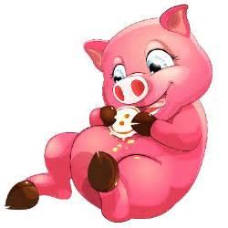 Cute Cartoon Pig Clip Art