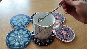 Absorbent, Ceramic, Coasters, Stone, Coasters, For, Drinks