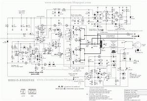 simple 3000 watts ups circuit diagram circuits diagram lab With diagrams further lm3915 vu meter circuit on 9 volt battery schematic