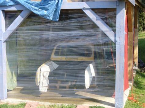 cabine de peinture faite maison l envol des 4l