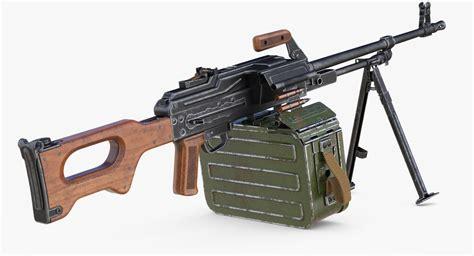 Pkm Machine Gun Model