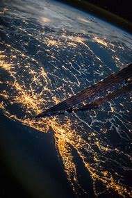Earth From Space New York