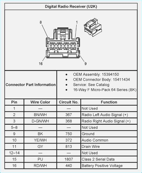 2003 chevy silverado stock radio wiring diagram wiring