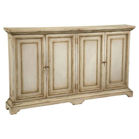 reynaud french country antique linen tall door cabinet