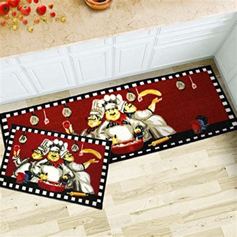 chef kitchen floor mats maxyoyo 2 pieces chefs kitchen floor mats runner rug 5363