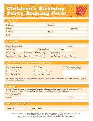 fillable birthday party flyer templates  edit print