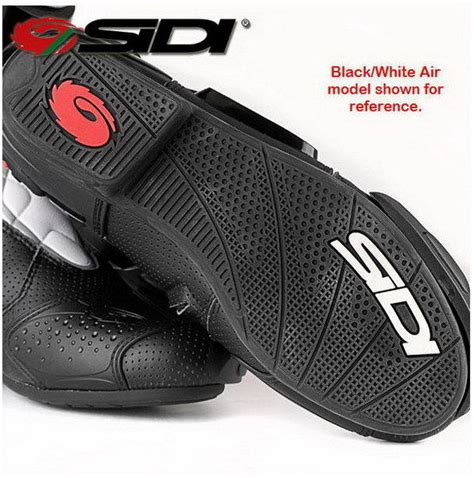 motorcycle street racing boots sidi mens st street race motorcycle boots black red ebay
