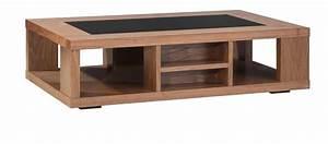 Table De Salon Bois : table de salon en bois moderne ~ Teatrodelosmanantiales.com Idées de Décoration