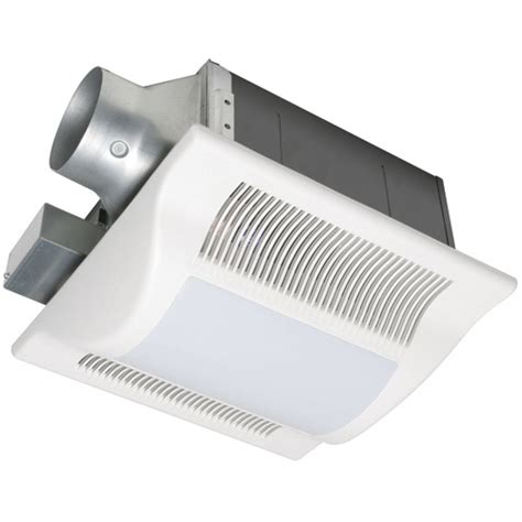 Bathroom Exhaust Fan Light Panasonic by Panasonic Whisperwarm 110 Cfm Ceiling Exhaust Bath Fan